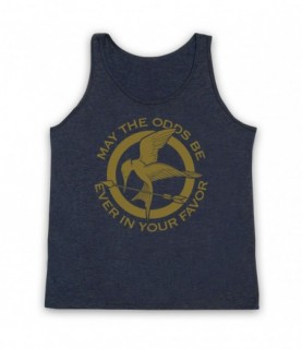Hunger Games May The Odds Be Ever In Your Favor Tank Top Vest Tank Top Vests