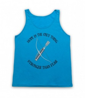 Hunger Games Hope Is The Only Thing Stronger Than Fear Tank Top Vest Tank Top Vests