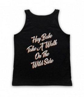Lou Reed Take A Walk On The Wild Side Tank Top Vest Tank Top Vests