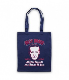 Billy Bragg All You Fascists Are Bound To Lose Tote Bag Tote Bags