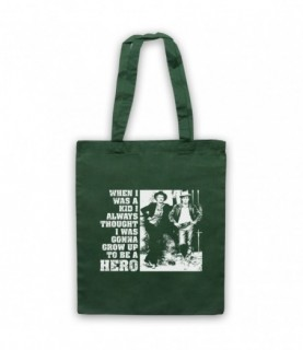 Butch Cassidy & The Sundance Kid Grow Up To Be A Hero Tote Bag Tote Bags