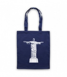 Christ The Redeemer Iconic Brazilian Christian Statue Tote Bag Tote Bags