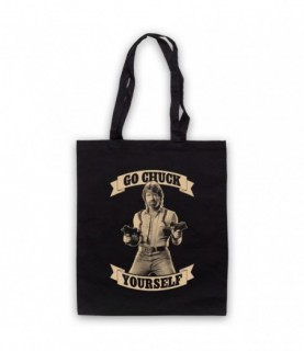 Chuck Norris Go Chuck Yourself Tote Bag Tote Bags