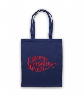 Creedence Clearwater Revival CCR Logo Tote Bag Tote Bags