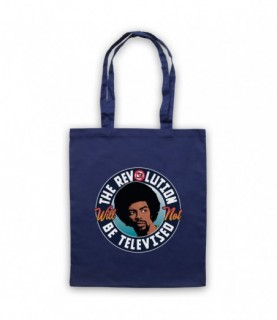 Gil Scott Heron The Revolution Will Not Be Televised Tote Bag Tote Bags