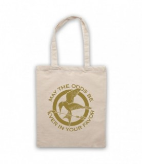 Hunger Games May The Odds Be Ever In Your Favor Tote Bag Tote Bags