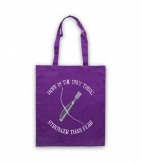 Hunger Games Hope Is The Only Thing Stronger Than Fear Tote Bag Tote Bags