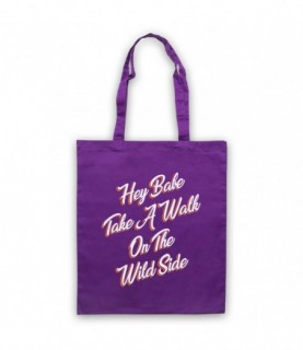 Lou Reed Take A Walk On The Wild Side Tote Bag Tote Bags