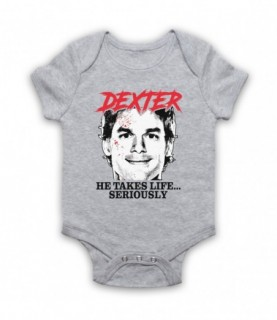 Dexter He Takes Life Seriously Baby Grow Baby Grows