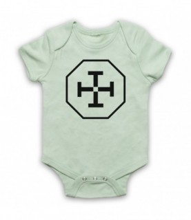 Equilibrium Flag Of Libria Logo Baby Grow Baby Grows
