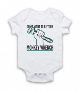 Foo Fighters Monkey Wrench Baby Grow Baby Grows