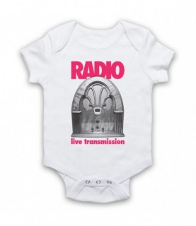 Joy Division Radio Live Transmission Baby Grow Baby Grows