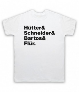 Kraftwerk Krautrock Band Members Names Lineup T-Shirt