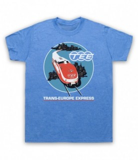 Kraftwerk Krautrock Trans-Europe Express Train T-Shirt