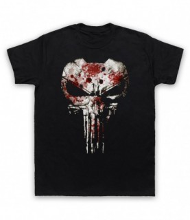 Punisher Skull Bullet Proof Jacket T-Shirt