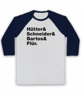 Kraftwerk Krautrock Band Members Names Lineup Baseball Tee