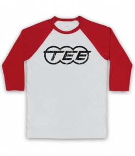 Kraftwerk Krautrock Trans-Europe Express Train Logo Baseball Tee