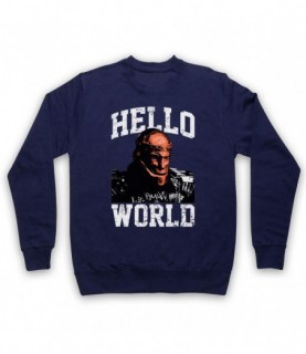 Doom Patrol Titans Robotman Hello World Hoodie Sweatshirt Hoodies & Sweatshirts