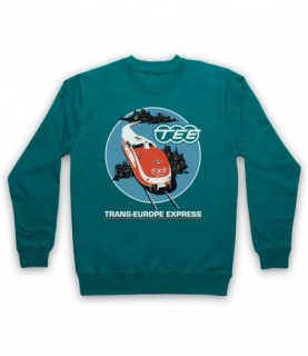 Kraftwerk Krautrock Trans-Europe Express Train Hoodie Sweatshirt Hoodies & Sweatshirts
