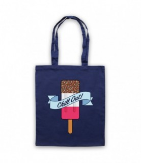 Chill Out Retro Fab Ice Lolly Tote Bag