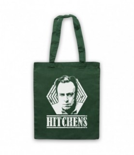 Christopher Hitchens Atheist Author Tribute Tote Bag