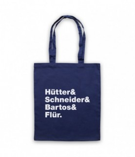 Kraftwerk Krautrock Band Members Names Lineup Tote Bag
