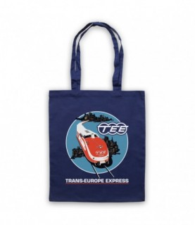 Kraftwerk Krautrock Trans-Europe Express Train Tote Bag