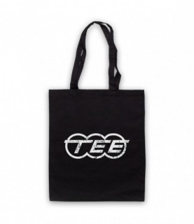 Kraftwerk Krautrock Trans-Europe Express Train Logo Tote Bag