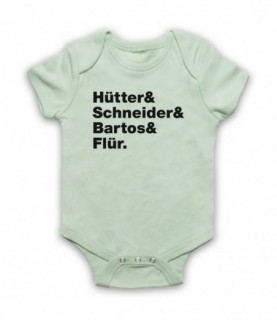 Kraftwerk Krautrock Band Members Names Lineup Baby Grow Bib