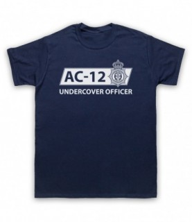 Line Of Duty AC-12 Undercover Officer T-Shirt