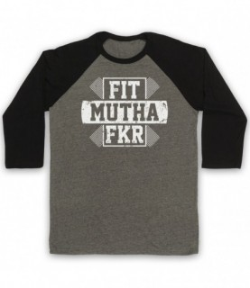 Fit Mutha Fkr Funny Hipster...
