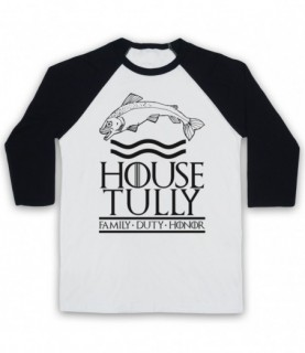 Game Of Thrones House Tully Baseball Tee