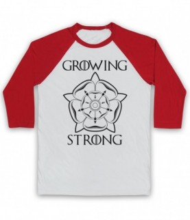 Game Of Thrones House Tyrell Sigil Growing Stronger Baseball Tee