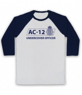 Line Of Duty AC-12 Undercover Officer Baseball Tee
