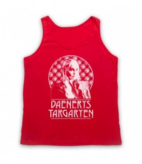 Game Of Thrones Daenerys Targaryen Tribute Tank Top Vest