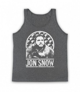 Game Of Thrones Jon Snow Tribute Tank Top Vest