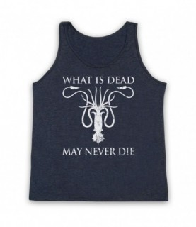 Game Of Thrones House Greyjoy Sigil What Is Dead May Never Die Tank Top Vest