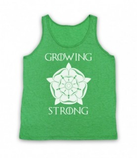 Game Of Thrones House Tyrell Sigil Growing Stronger Tank Top Vest