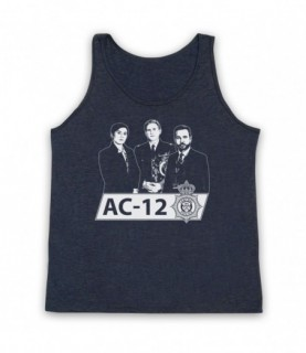 Line Of Duty AC-12 Kate Ted Steve Tribute Tank Top Vest