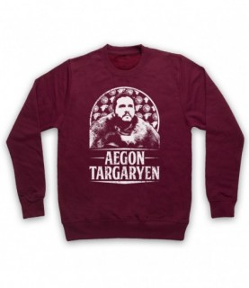 Game Of Thrones Aegon Targaryen Jon Snow Tribute Hoodie Sweatshirt Hoodies & Sweatshirts