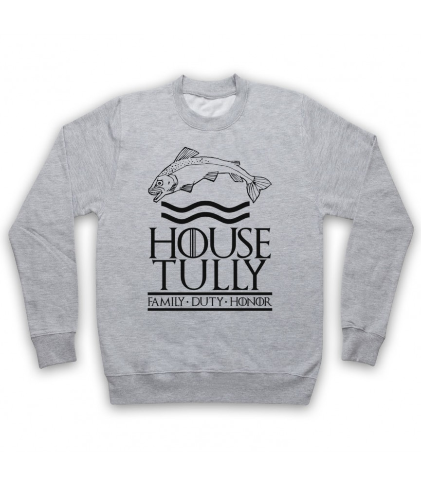 Game Of Thrones House Tully Hoodie Sweatshirt Hoodies & Sweatshirts