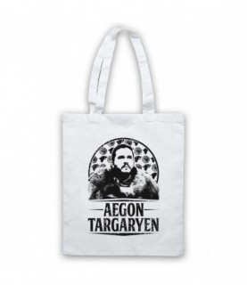 Game Of Thrones Aegon Targaryen Jon Snow Tribute Tote Bag