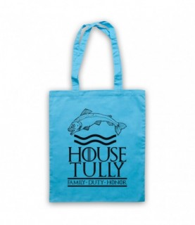 Game Of Thrones House Tully Tote Bag