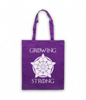 Game Of Thrones House Tyrell Sigil Growing Stronger Tote Bag