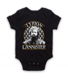 Game Of Thrones Tyrion Lannister Tribute Baby Grow Bib