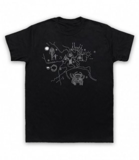 Twin Peaks Owl Cave Map T-Shirt