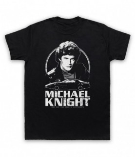Knight Rider Michael Knight Tribute T-Shirt