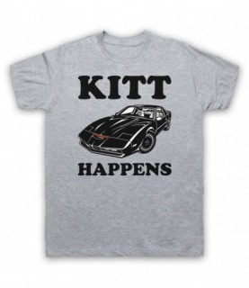 Knight Rider Kitt Happens Parody T-Shirt