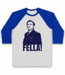 Line Of Duty Ted Hastings Fella! Baseball Tee