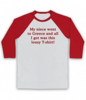 Gavin & Stacey My Niece Went To Greece Baseball Tee
